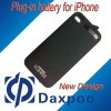 Hot!!! New Mobile phone charger,Plug-in battery for Apple iPhone 4 4s