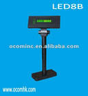 LED8B --- LED Customer Pole Display With RS232 Interface And 8 Characters Showed