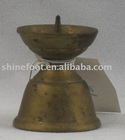 E182 1.4''small brass temple oil lamp base for themples/churches A8-023