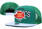 3d logo custom snapback caps flat brim new