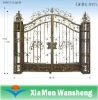 Wrought iron electric gate