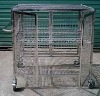 Stacking shelving trolley storage cage anti-static trolley