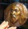 Hot sale Jesus bronze head sculpture for Christmas gift