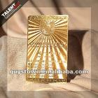 Pantone printed gold card ,business card