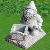 Natural Stone Statue Flowerpot