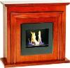 White bio Ethanol Fireplace