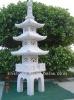 natural granite garden stone japanese pagodas (23 years factory)