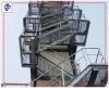 galvanized steel grating ladder (factory)