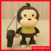 cartoon monkey shape silicon USB cover