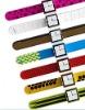 2011 New Design Silicone Slap Wristband for nano 6/ Silicone Slap Watchband