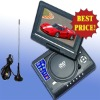 Low price!! 7.5 inch Portable dvd player