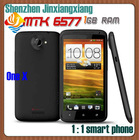 "In stock one X MTK6577 S310E 32G ROM 1GB RAM 4.7"" HD screen android 4.0.4 dual core 1.5GHz CPU 8MP 3G android phone"