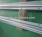 Circular linear motion guide rail and block