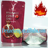 High moisture barrier Aluminum foil flexible dry fruit packaging doypack pouch ( Food grade zipper stand up pouch)