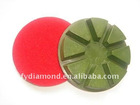 dry concrete polishing pad