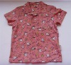 Hot!Boy's printing shirt