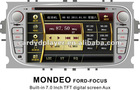 Ford-Focus 7.0 Inch TFT screen car DVD player