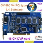 16 CH Software V8.4 PCI Express Card GV800 V4 / GV DVR card GV-800 V4 PCI-E Card