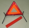 car emergency tool with warning triangle