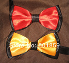 ren and Yellow polyester mens bow tie