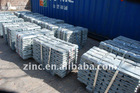 pure zinc ingots