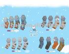 2011 80% cotton with 20% spandex short boy baby socks