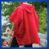 high visibility fabric raincoat