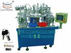 Automatic lock assembling production line