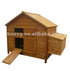 Wooden Chicken Coop with egg crate