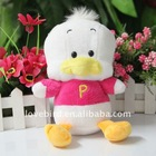 2011 new fashion lovely stuffed & Plush toy soft duck in plush animal toy