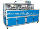 SS400UV multi-color automatic screen printing machine for glass