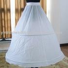 yinishi 2 hoop wedding dress peticoat/crinoline,bridal underskirt XP001