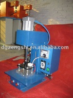 Jeans bump embossing machine