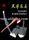 Farm Tools-hatchet, picks, hoes, matchets, sickles and shovels