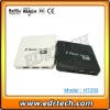 Square ABS cover Hi-speed USB 2.0 7 Port Hub