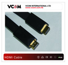2012 Newest Top quality Professional flat Diamond molding HDMI cable