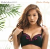 2012 women black and purple hot sexy bra