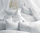100% cotton cover white duck down pillow