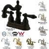 Heritage Double-handle Centerset Bathroom Faucet mixer