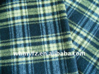 100% wool plaid fabric for winter coats and garments