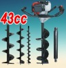 43cc gasoline earth auger