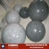 Grey stone ball