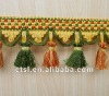 HANDMADE SUPERB LACENESS TASSEL FRINGE FOR DECORATION CURTAIN ACCESSORY