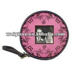 Leather CD bag CD wallet CD pouch for wedding gift