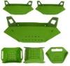 new design PP BPA free plastic folded basket