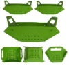 new design PP BPA free plastic folded basket