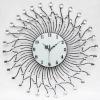 Diamante wall clock,Iron Clock,Iron Wall Clock,Decorative Wall Clock,promotional products