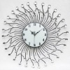 Diamante wall clock,Iron Clock,Iron Wall Clock,Decorative Wall Clock,promotional products