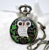 Fashion 2012 Newest Necklace Pocket Watch, Quartz Movement, FD47004, 47 x 47mm Archaize Antique Bronze Pocket Watch