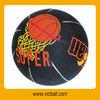 Rubber basketball